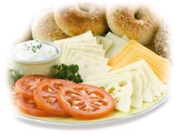 Breakfast-Bagel-platter