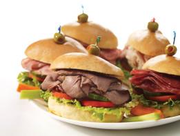 Sandwiches, Wraps, Panini Platters