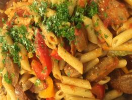 penne-hot-sausage