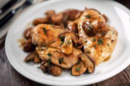 peppercorn chicken mushroom